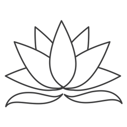 Lotus leaf stroke