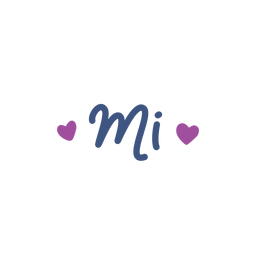 Mi corazón español etiqueta de texto