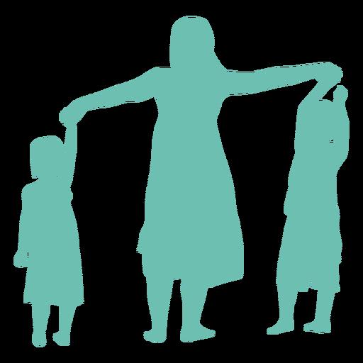 Mãe filha filho criança criança silhueta mulher Transparent PNG