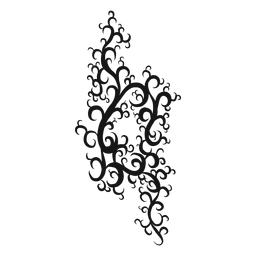 Símbolo musical natural remolino