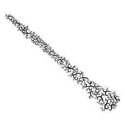 Oboe musical instrument swirl