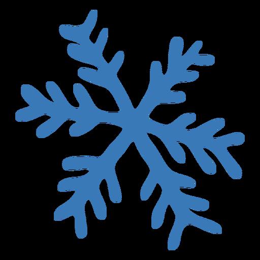 Adesivo de cristal de floco de neve de padrão Transparent PNG