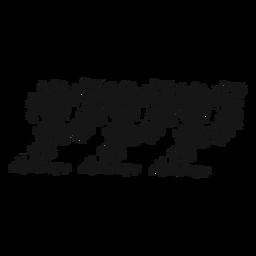 Pianississimo símbolo musical remolino