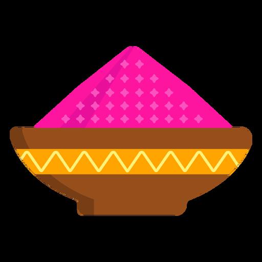 Prato tigela padrão mingau de pó em pó Transparent PNG