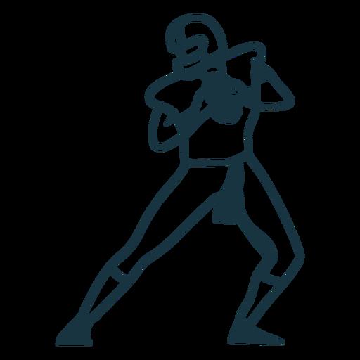 Jugador equipo casco pelota de futbol trazo Transparent PNG