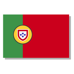 Portugal flag language icon