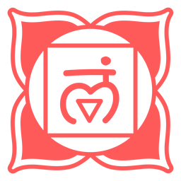 Wurzel-Chakra-Symbol