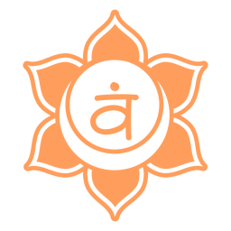 Símbolo de chakra sacral