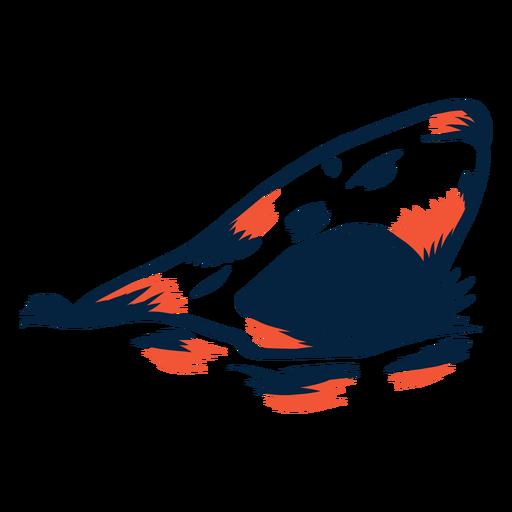 Tiburón abierto mandíbulas duotono Transparent PNG