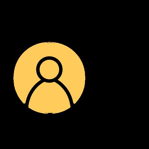 Icono de teléfono inteligente golpe de cuenta de usuario Transparent PNG