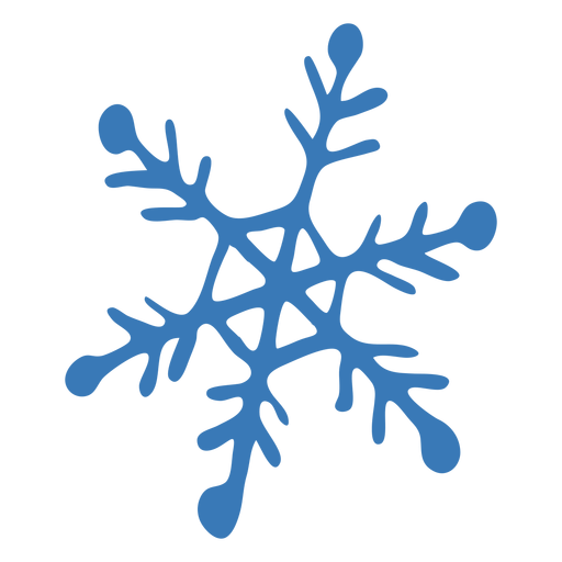 Schneeflocke Kristallmuster Hexagon Aufkleber Transparent PNG