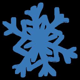 Adesivo de hexágono de cristal padrão de floco de neve