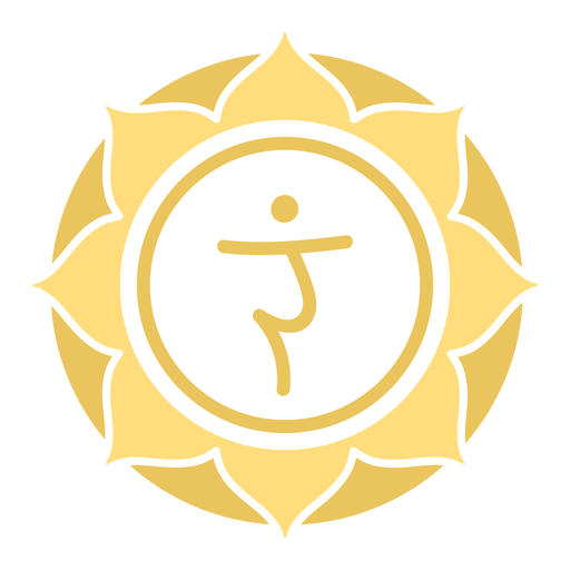 Símbolo do círculo do chakra do plexo solar Transparent PNG