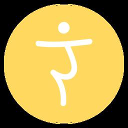 Icono de chakra del plexo solar