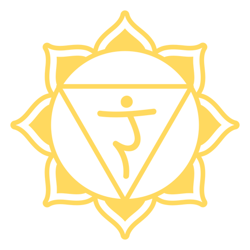 Símbolo del chakra del plexo solar