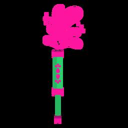 Zerstäuberpulverisierer-Wasserfarbe flach