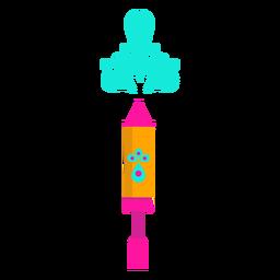 Spritzgerät Zerstäuber Zerstäuber Wasserfarbe flach