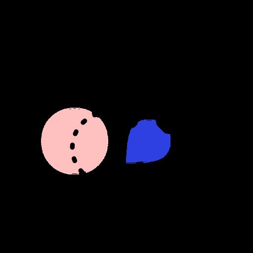 Icono de tableta pincel punto trazo de pintura Transparent PNG