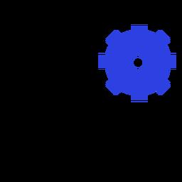 Conjunto de configurações do ícone do tablet