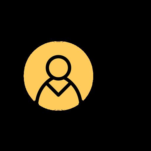 Trazo de cuenta de usuario de icono de tableta Transparent PNG