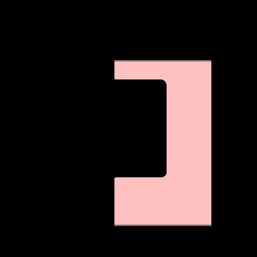 Curso de ícone de smartphone tablet Transparent PNG