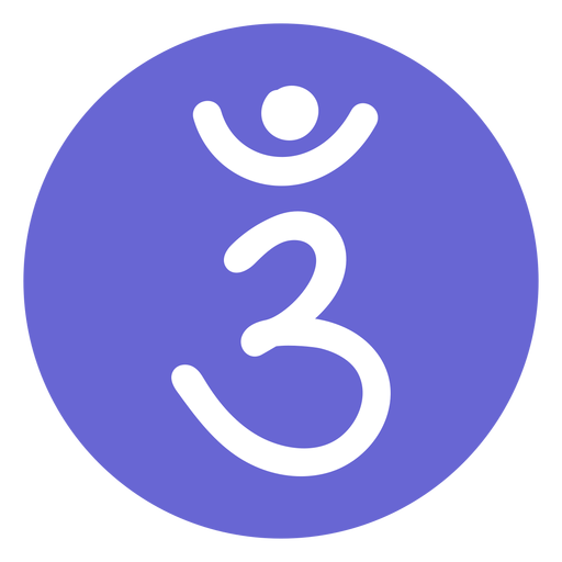 Icono del chakra del tercer ojo Transparent PNG