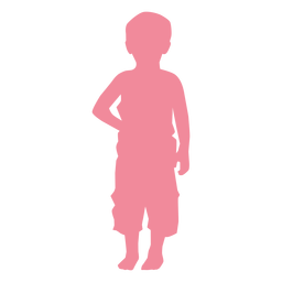 Toddler baby child kid silhouette