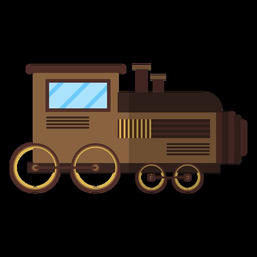 Tren locomotora depósito rueda plana Transparent PNG