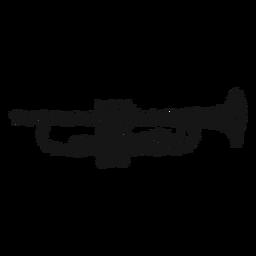 Redemoinho de instrumento musical de trompete