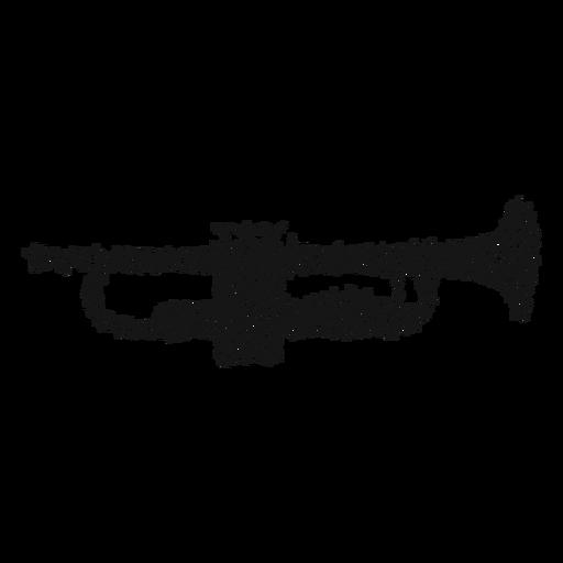 Redemoinho de instrumento musical de trompete Transparent PNG