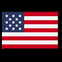 USA-Flaggensprache-Symbol