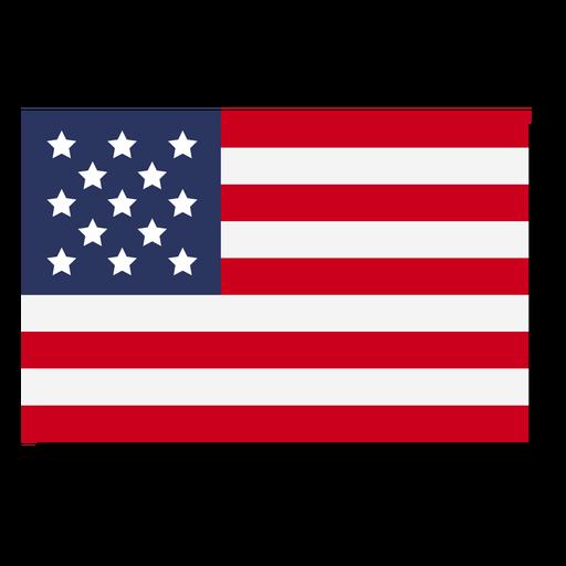Ícone de idioma de bandeira dos EUA Transparent PNG