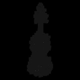 Redemoinho de instrumento musical de violino