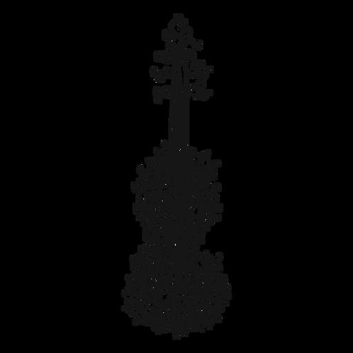Redemoinho de instrumento musical de violino Transparent PNG