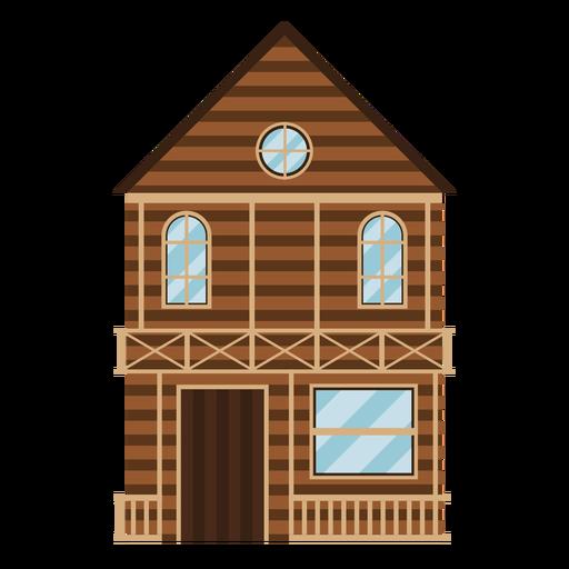 Casa occidental Transparent PNG
