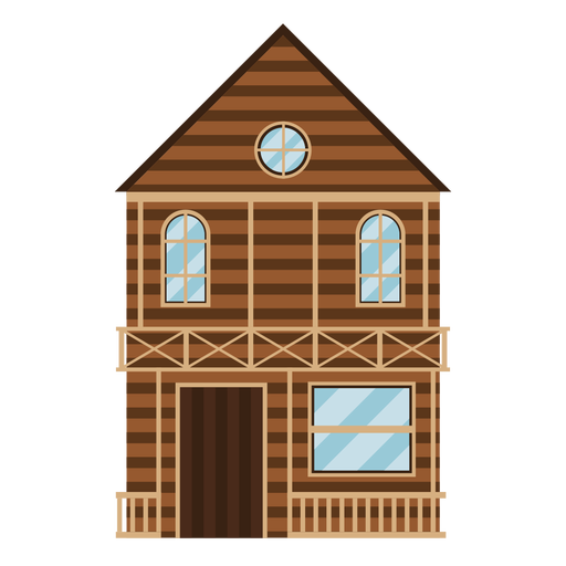 Western house Transparent PNG