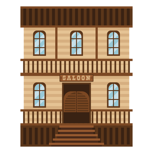 Western saloon Transparent PNG