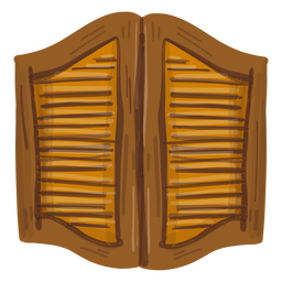 Puertas de salón occidental