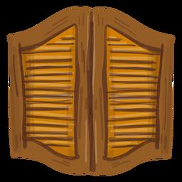Western Saloon Türen