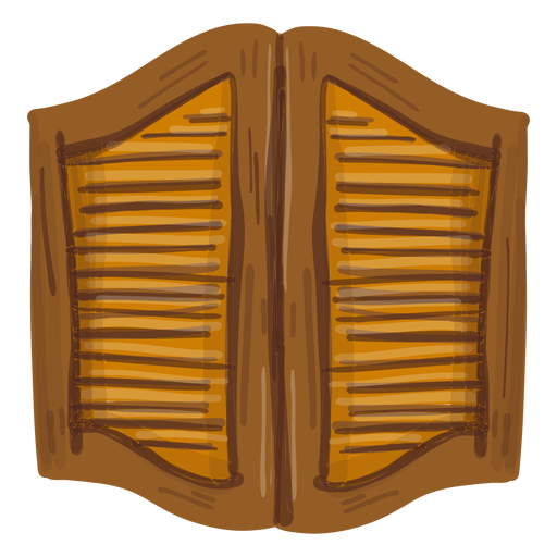 Western saloon doors Transparent PNG