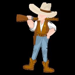 Western Sheriff mit Gewehr