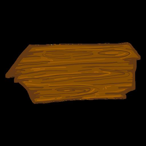 Wooden arrow sign Transparent PNG