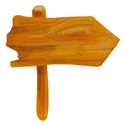 Tablero de madera de la muestra de la flecha