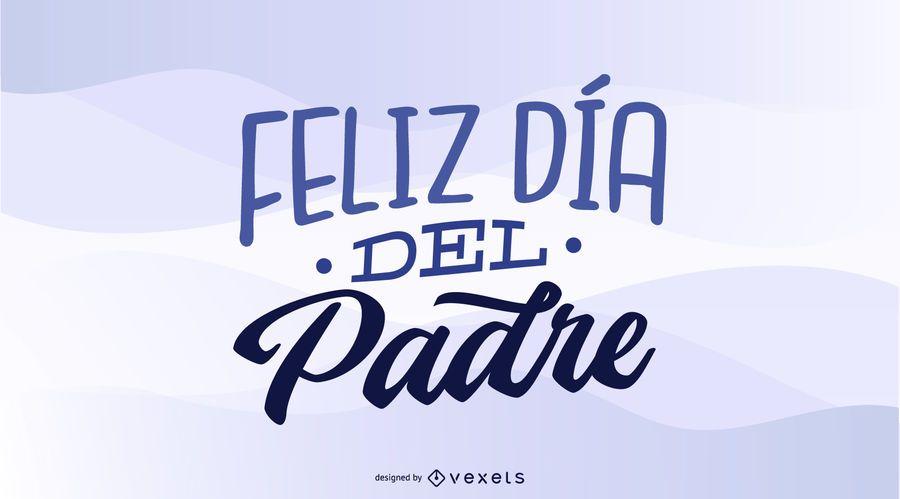 Projeto do dia dos pais feliz espanhol