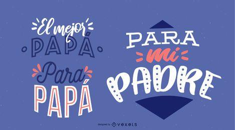 Letras do dia do pai espanhol