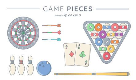 Game pieces pack