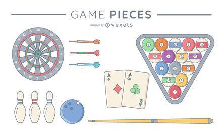 Paquete de piezas de juego