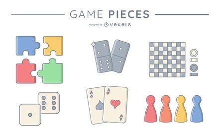 Juego de piezas del juego # 2
