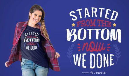 Obtê-lo Feito design de t-shirt