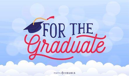 Graduación congrats diseño